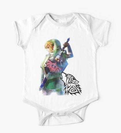 Zelda Link with Wolf One Piece - Short Sleeve