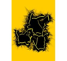 Electrifying Pikachu Photographic Print