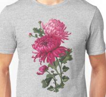 Chrysanthemum - acrylic painting Unisex T-Shirt