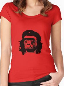 Harambe Che Guevara Women's Fitted Scoop T-Shirt