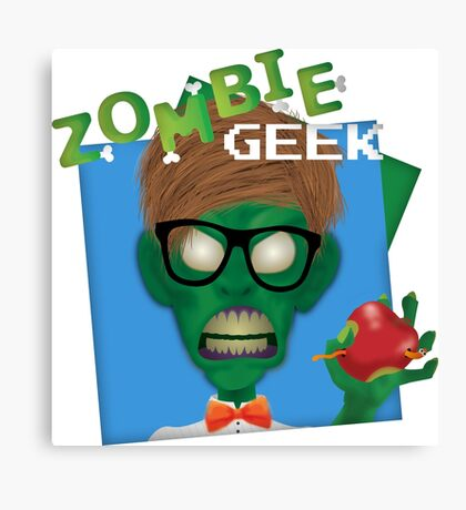 Zombie Geek Canvas Print