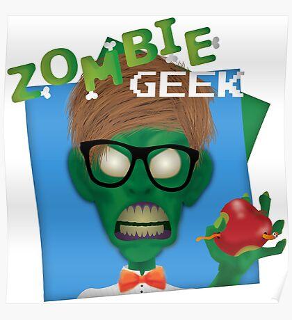 Zombie Geek Poster
