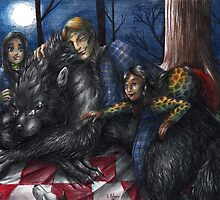 Hannibal - Picnic with the werewolf by Furiarossa