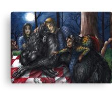 Hannibal - Picnic with the werewolf Canvas Print