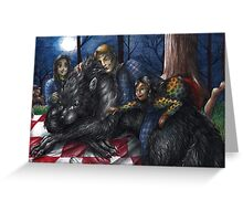 Hannibal - Picnic with the werewolf Greeting Card