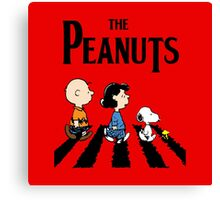 The Peanuts Across The Street Canvas Print
