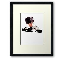 Costanza's Russian Hat Framed Print