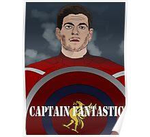 Captain Fantastic Steven Gerrard Poster