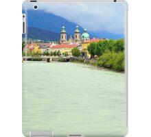 Innsbruck and Inn river, Tyrol, Austria iPad Case/Skin