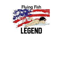 Men's Michael Phelps Legend T-Shirt Photographic Print