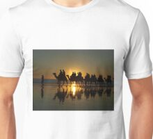 Cable Beach Camels at Sunset Unisex T-Shirt