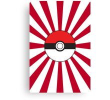 Poké Flag Canvas Print