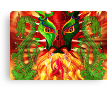 DRAGON FIRE Canvas Print