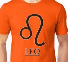 Leo Zodiac Sign Unisex T-Shirt