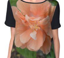 Peachy Keen Blossom Chiffon Top