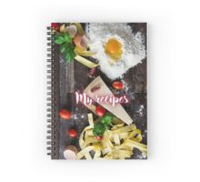 My Recipes - Italian Spiral Notebook