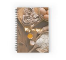 My Recipes - homemade pasta Spiral Notebook