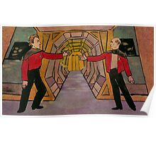 Q and Picard Poster