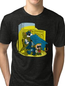 Calvin And Hobbes : Freezer Sneakers Tri-blend T-Shirt
