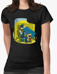 Calvin And Hobbes : Freezer Sneakers Womens Fitted T-Shirt