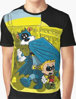 Calvin And Hobbes : Freezer Sneakers Graphic T-Shirt