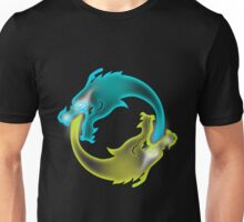 Two Dragons, two Brothers Unisex T-Shirt