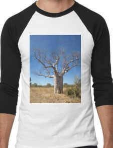 Boab Tree Men's Baseball ¾ T-Shirt