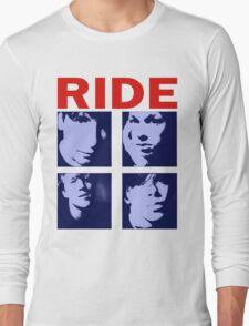 RIDE - RIDE UK BAND SHOEGAZER- Long Sleeve T-Shirt