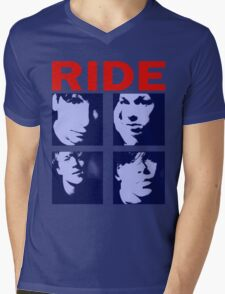 RIDE - RIDE UK BAND SHOEGAZER- Mens V-Neck T-Shirt