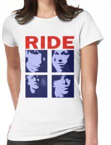 RIDE - RIDE UK BAND SHOEGAZER- Womens Fitted T-Shirt