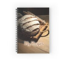 My Recipes - bread Spiral Notebook
