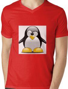Coz - Pingoo Mens V-Neck T-Shirt