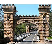 Hampden Bridge Photographic Print