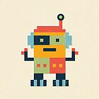 Happy Robot - Card by daisy-beatrice