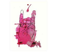 Devil's Fingers Rock Print Art Print
