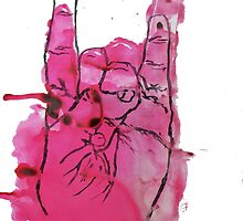 Devil's Fingers Rock Print by RobinLeverton