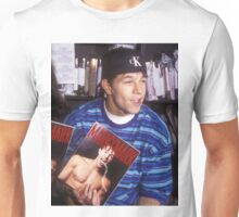 Marky Mark Wahlberg Young with Calvin Klein 90's Unisex T-Shirt