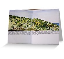 the headland: moore river Greeting Card