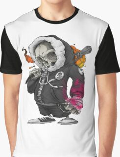 Skull Soldier Graphic T-Shirt