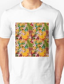Sakura Festival Colourful Cherry Blossom Pattern Unisex T-Shirt