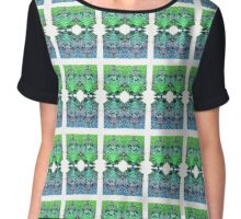 Green Spirit Guardian Chiffon Top