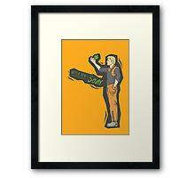I'm a Leaf in the Wind Framed Print