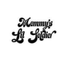 Mommy's Lil Soldier - BANG BANG Photographic Print