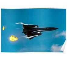 Lockheed SR-71A 64-17960 head banger Poster