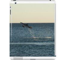I can fly!!! Dolphin Jump iPad Case/Skin