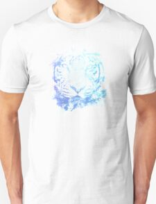 Abstract Watercolor Tiger Portrait / Face T-Shirt
