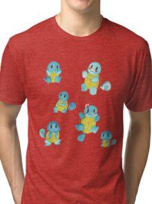 Watercolor Doodles Tri-blend T-Shirt