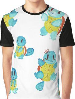Watercolor Doodles Graphic T-Shirt