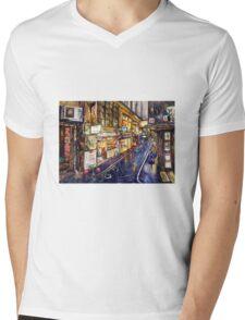 Rainy Melbourne Mens V-Neck T-Shirt