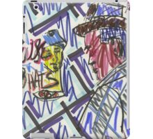 "Drawing: ""Film Noir III (2014)"" by artcollect iPad Case/Skin"